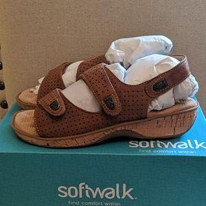 Softwalk Women's Bolivia Wedge Sandals